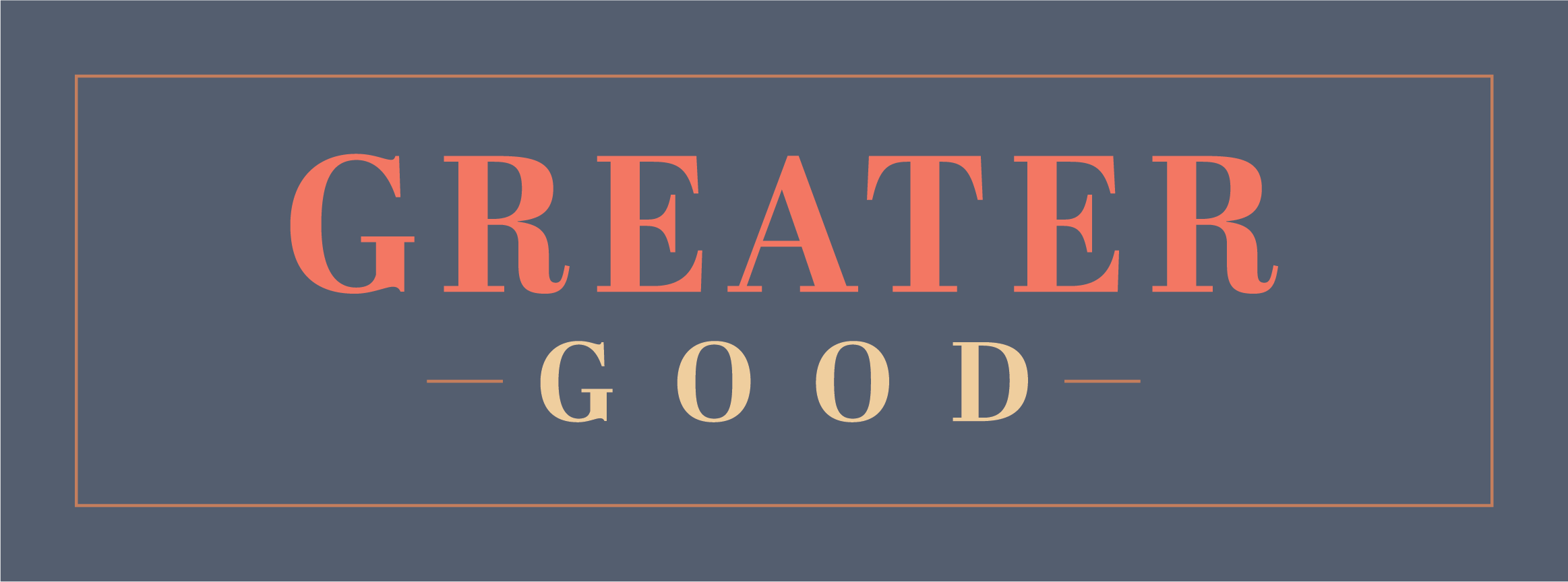 Greater Good Stories